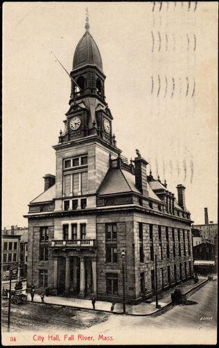 City Hall, Fall River, Mass.