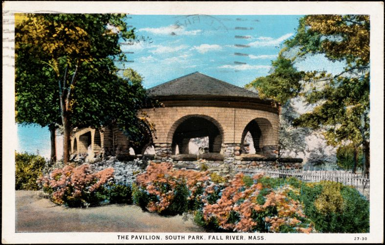 The pavilion, South Park, Fall River, Mass.