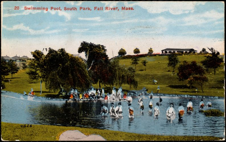 Swimming pool, South Park, Fall River, Mass.