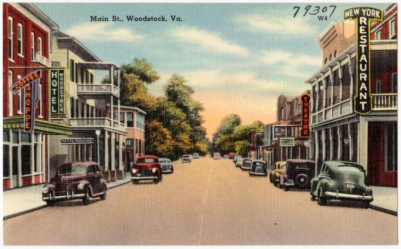 Main St., Woodstock, Va.