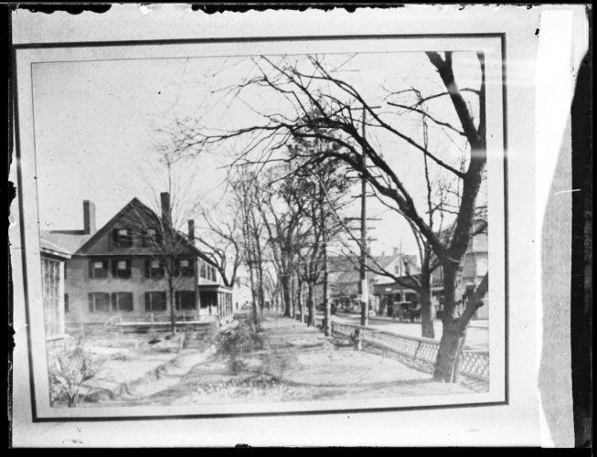 Col. Abner B. Packard lawn