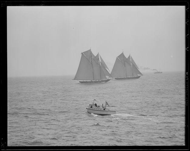 Gloucester fishing schooner races