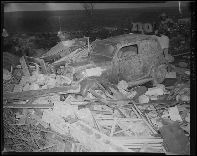 Tornado hits Worcester