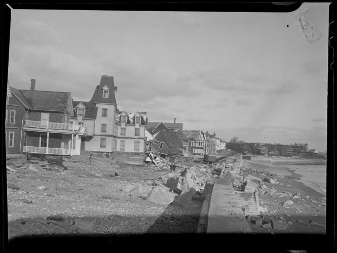 Storm damage, Shore Drive, Winthrop