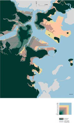 Boston shoreline composite