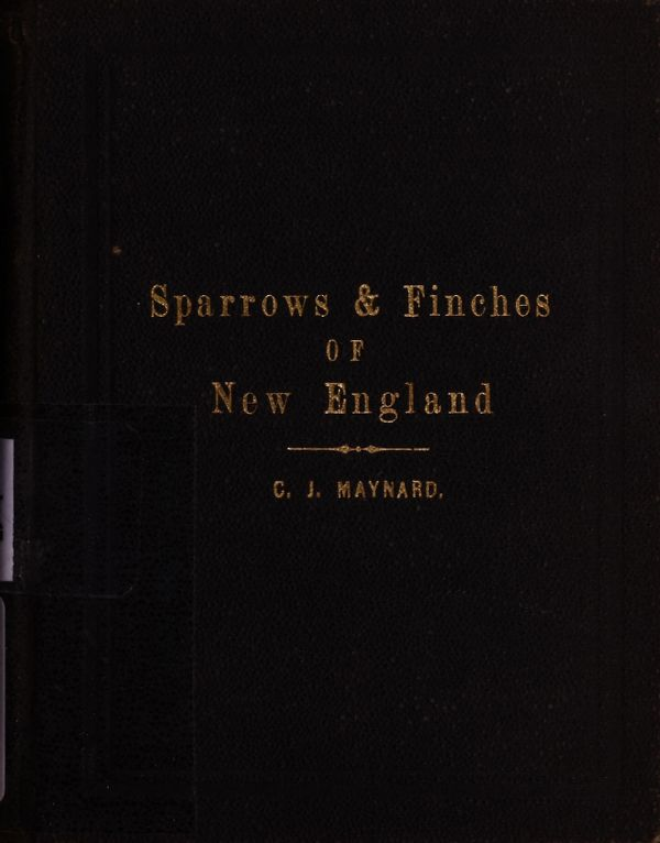 Handbook of the sparrows, finches, etc., of New England -