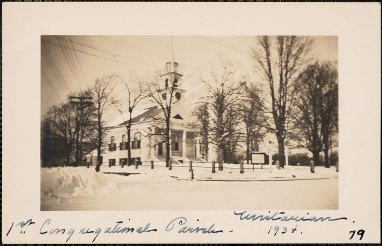 1st Congregational Parish, Unitarian