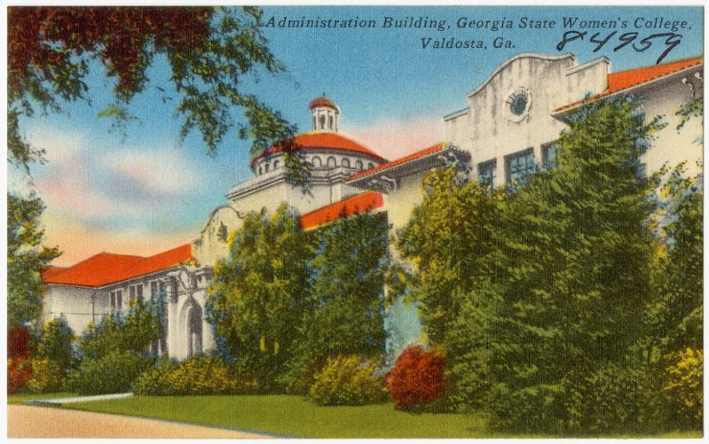 Administration building, Georgia State Women's College, Valdosta, Ga.