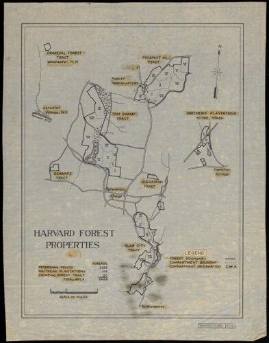 Harvard Forest Properties 1937