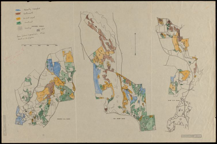 Harvard Forest Operations Map 1963