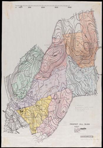 Harvard Forest 1945 Prospect Hill Block soils and vegetation