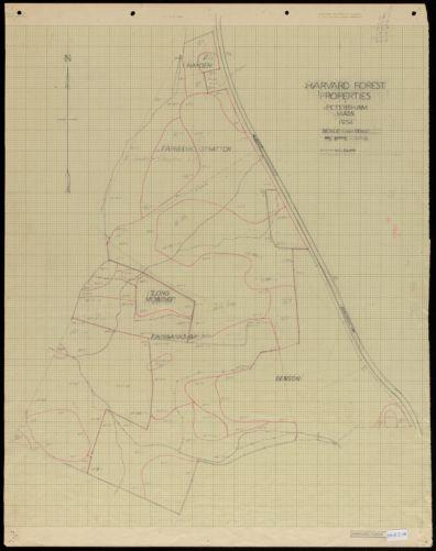 Harvard Forest Properties - Prospect Hill IX 1934