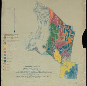 The Harvard Forest Map Collection