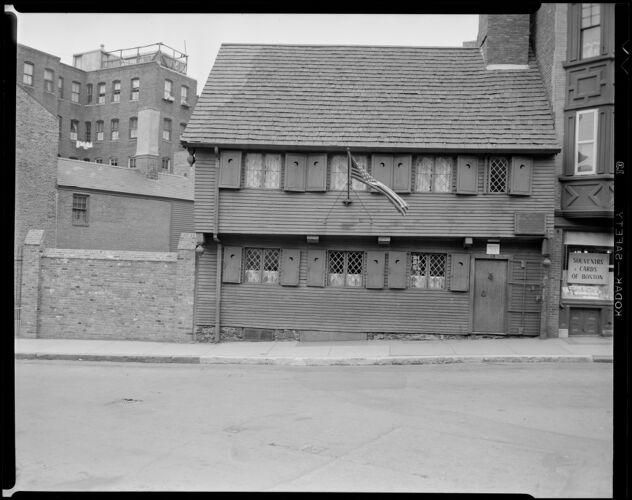 19 North Square, Paul Revere House