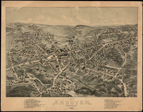View of Andover, Massachusetts