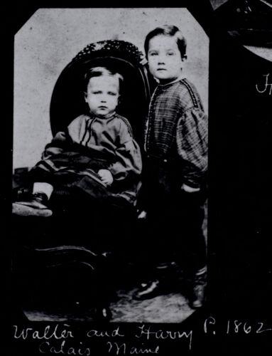 Walter and Harry Puerington