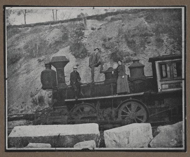 Waban photographs - Steam Locomotive Engine -