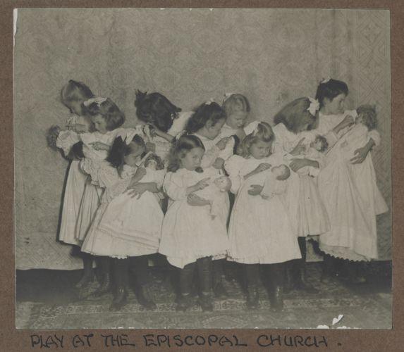 Waban photographs - Play at the Episcopal Church -