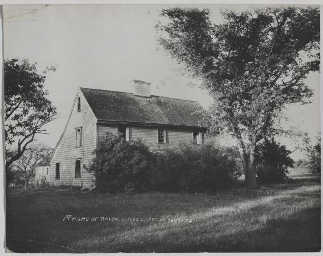 Waban photographs - Bethuel-Allen House - Waban, Massachusetts -