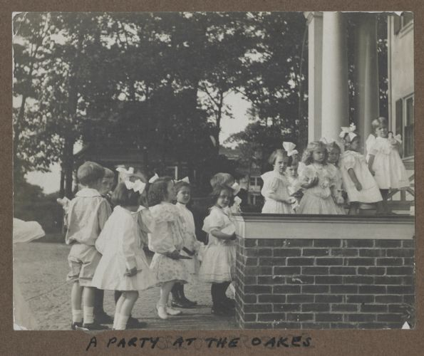 Waban photographs - A Party at the Oakes -