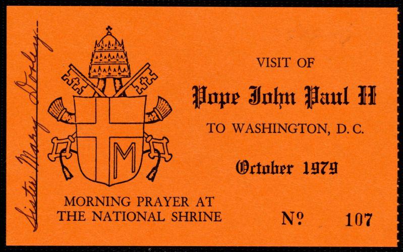 Papal visit of John Paul II