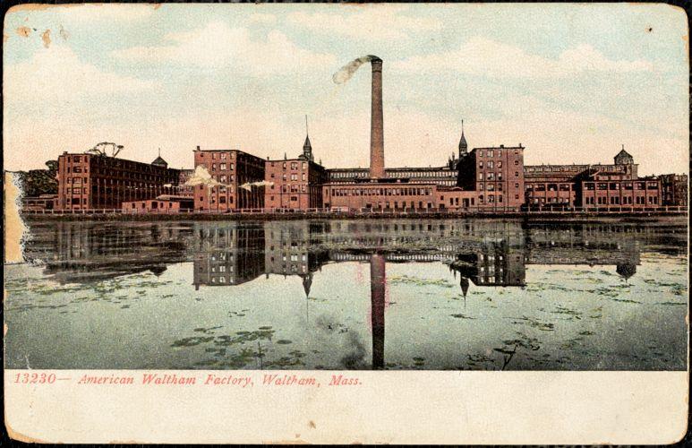 American Waltham Factory, Waltham, Mass.