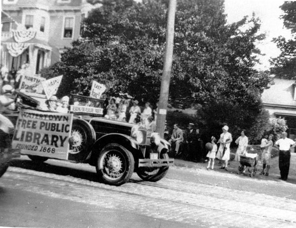 Watertown Tercentenary Parade, June 1930.