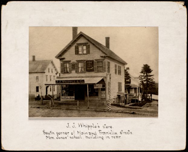 J.J. Whipple's store