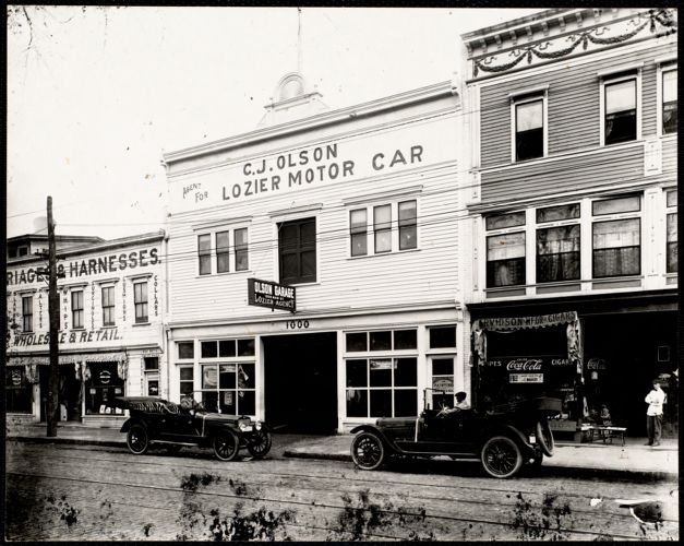 C.J. Olson Lozier Motor Car building