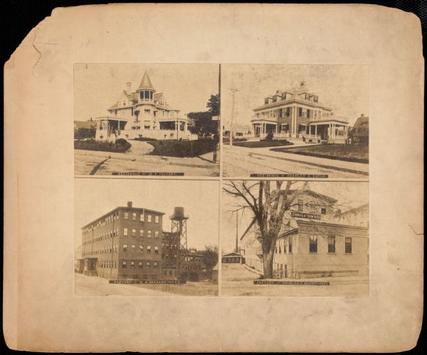 Residences and factories of M.A. Packard and Charles A. Keith