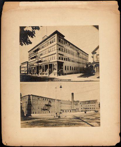 Pierce Block/Factory of Packard and Field