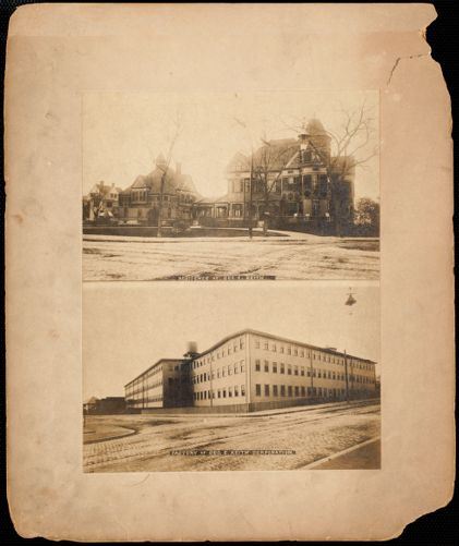 Residence and factory of George E. Keith