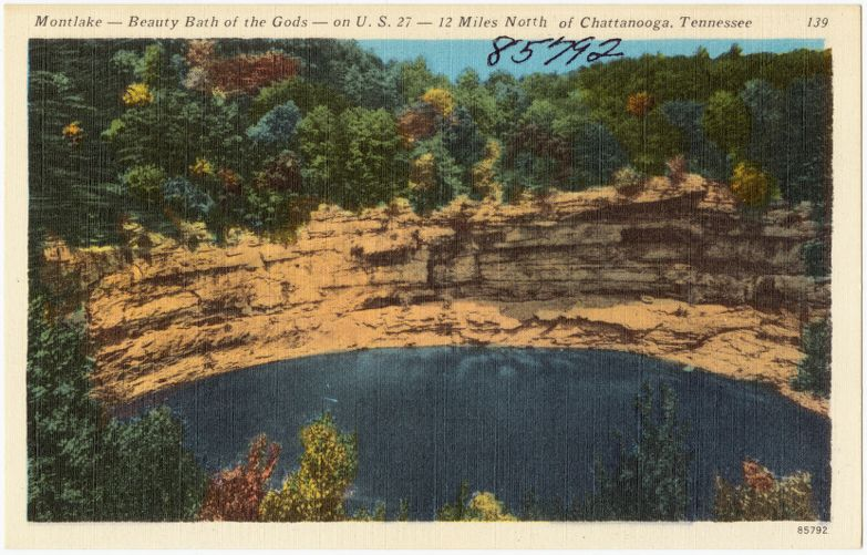 Montlake -- Beauty bath of gods -- on U.S. 27 -- 12 miles north of Chattanooga, Tennessee