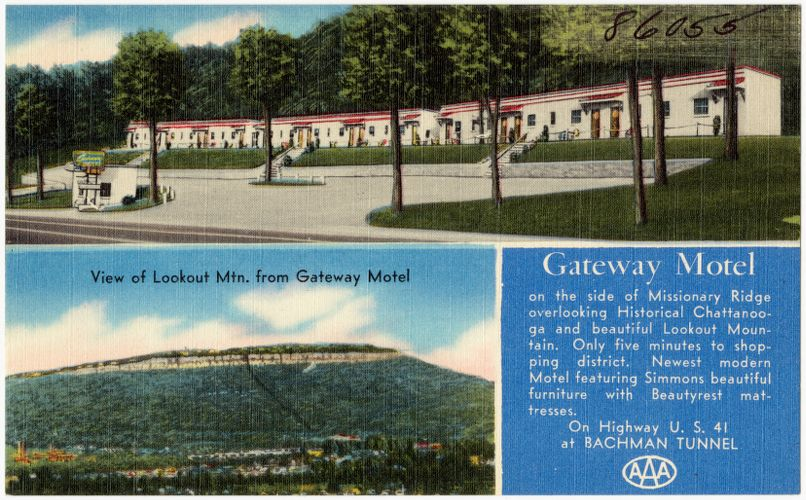 Gateway Motel, on Highway U.S. 41 at Bachman Tunnel