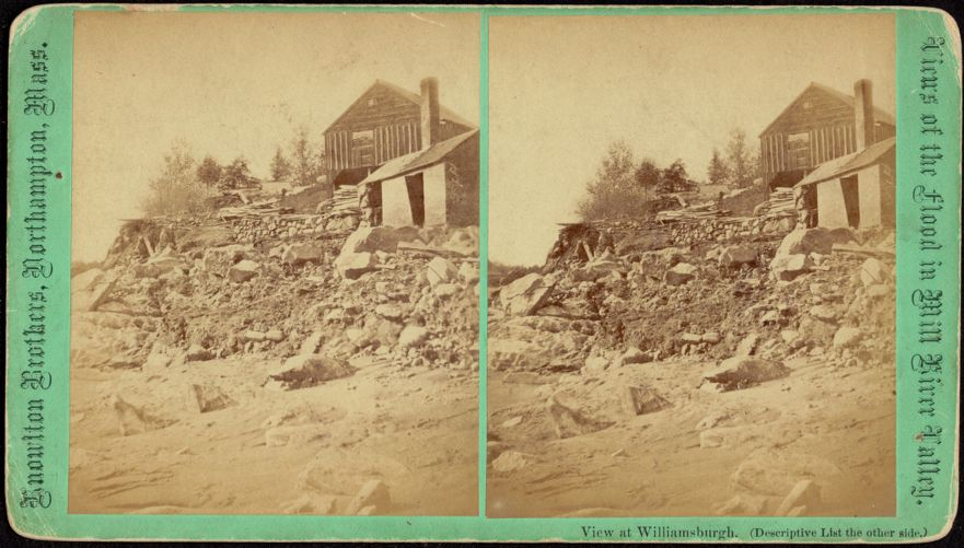 Ruins of Spelman's Button Factory and Saw Mill--Williamsburg