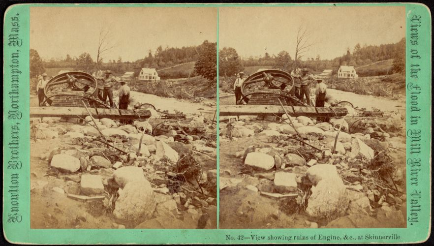 View showing ruins of engine, &c.--Skinnerville