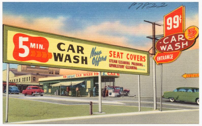 5 Min. Car Wash