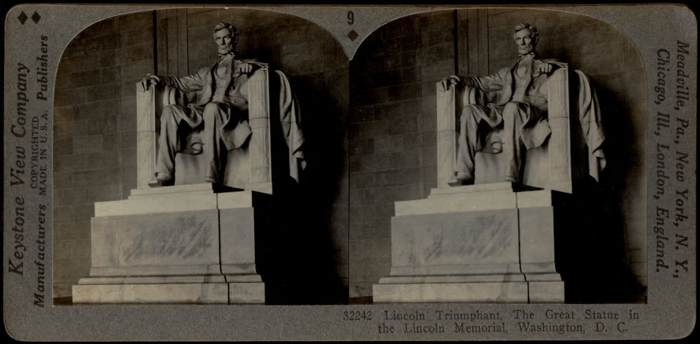 Abraham Lincoln. Daniel Chester French, Sculptor. Lincoln Memorial, Washington, D. C.