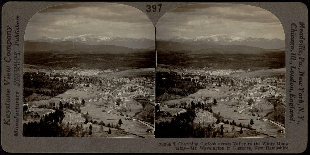 Across to the White Mountains - Mount Washington in the distance
