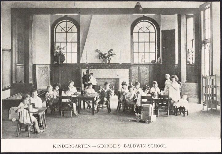 Baldwin School, kindergarten