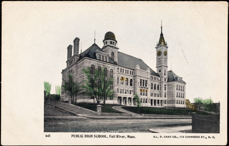 Public high school, Fall River, Mass.