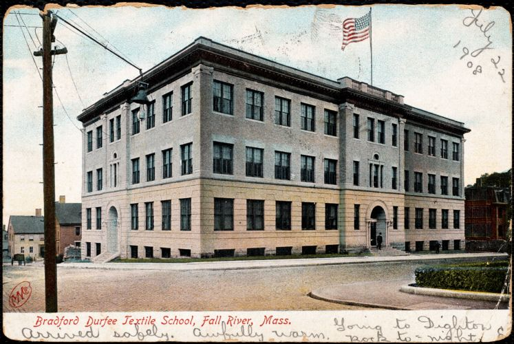 Bradford Durfee Textile School, Fall River, Mass.