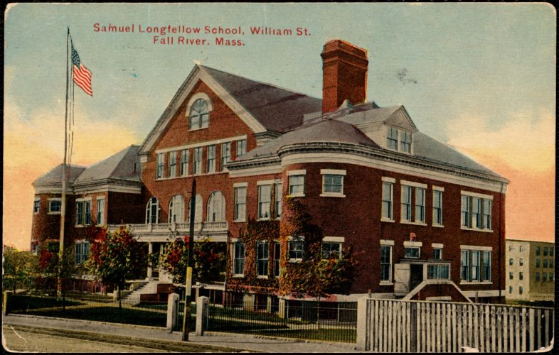 Samuel Longfellow School, William St., Fall River, Mass.