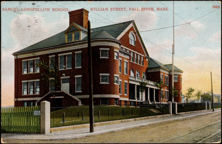 Samuel Longfellow School, William Street, Fall River, Mass.