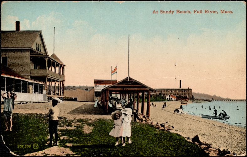 At Sandy Beach, Fall River, Mass.