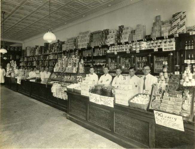 Interior of Great Atlantic and Pacific Tea Co.