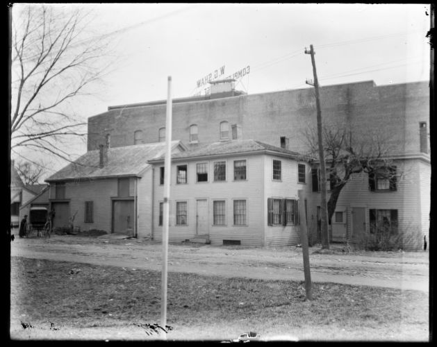 John Savil barn Faxon Avenue