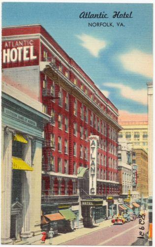 Atlantic Hotel, Norfolk, VA.