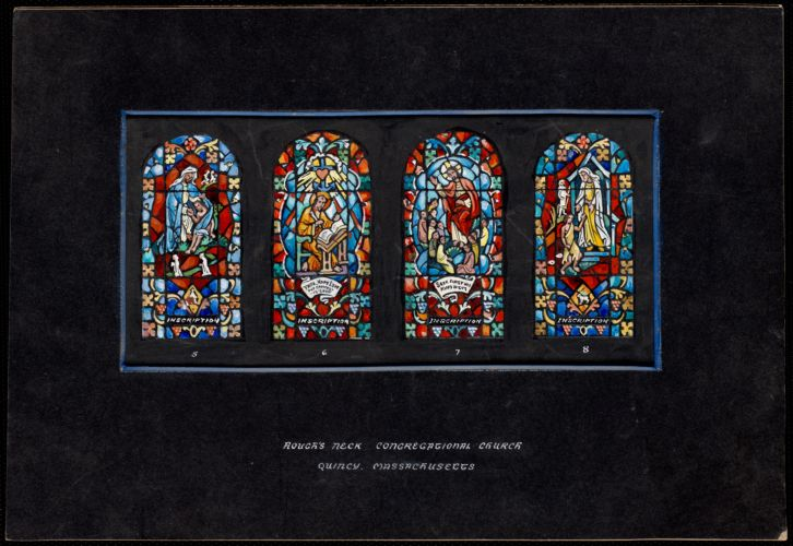 5, 6, 7, 8, Hough's Neck Congregational Church, Quincy, Massachusetts