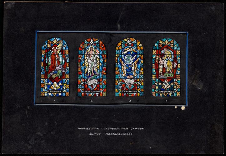 1, 2, 3, 4, Hough's Neck Congregational Church, Quincy, Massachusetts